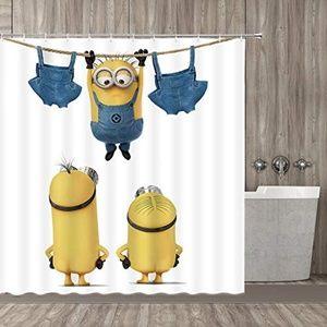 NWOT qianliansheji Minion Shower Curtain Polyester
